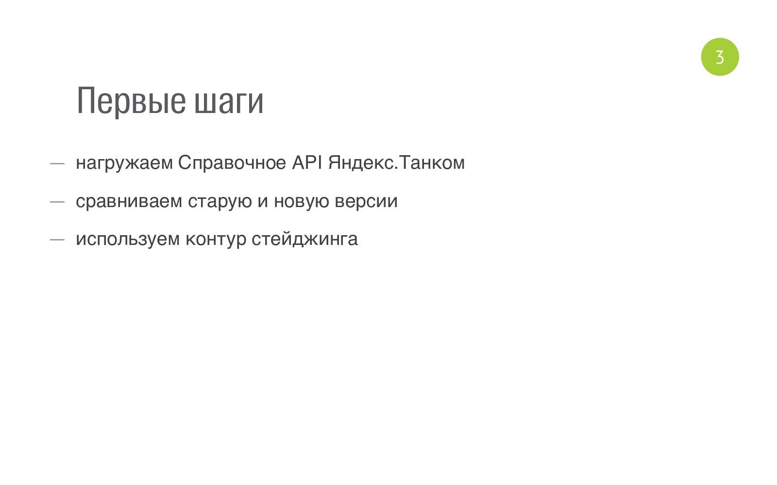 Первые шаги — нагружаем Справочное API Яндекс.Т...