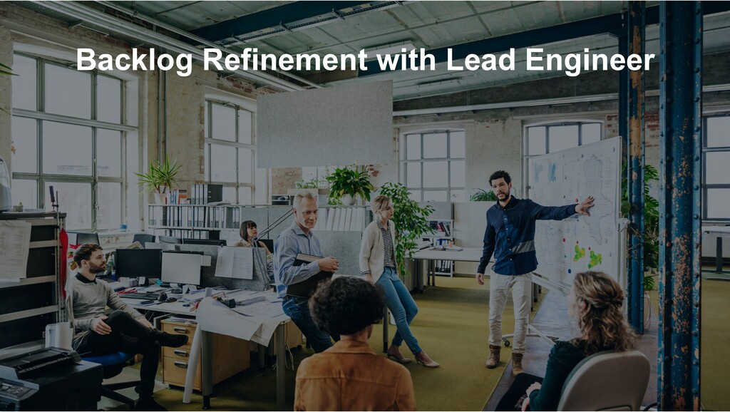 Backlog Refinement with Lead Engineer