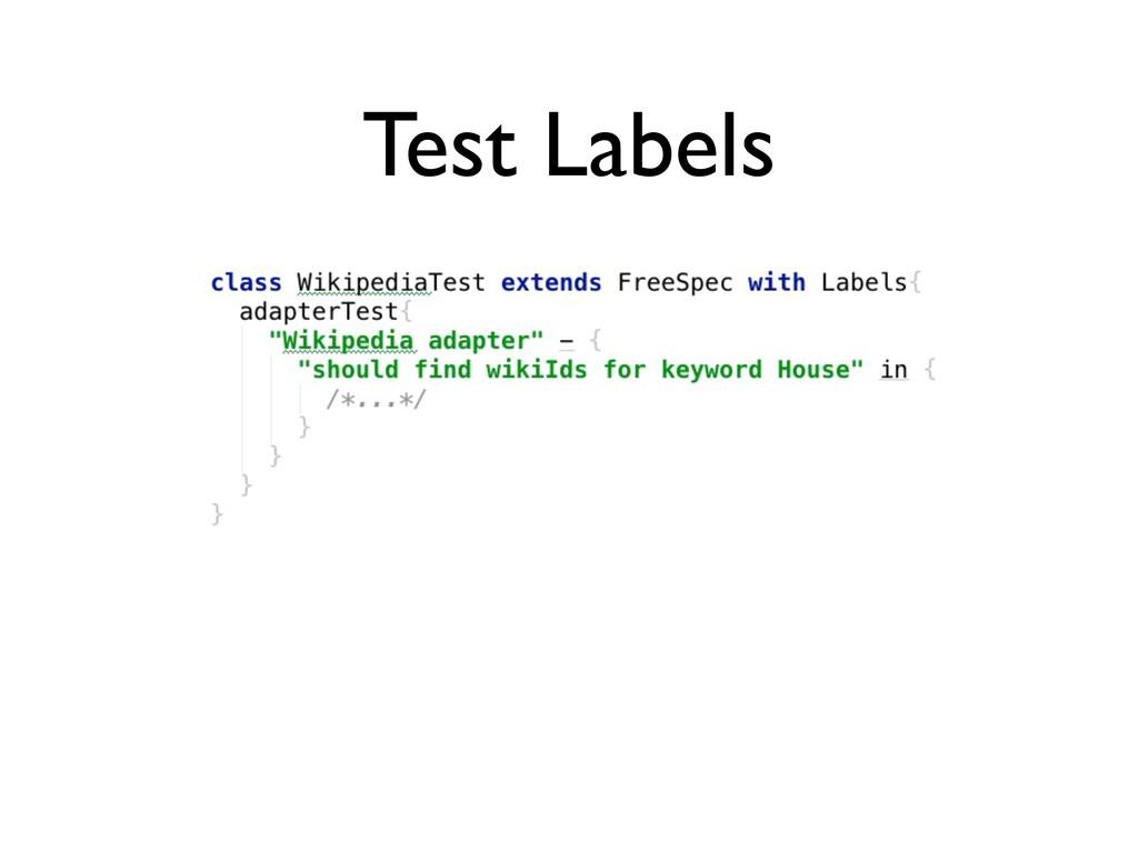 Test Labels