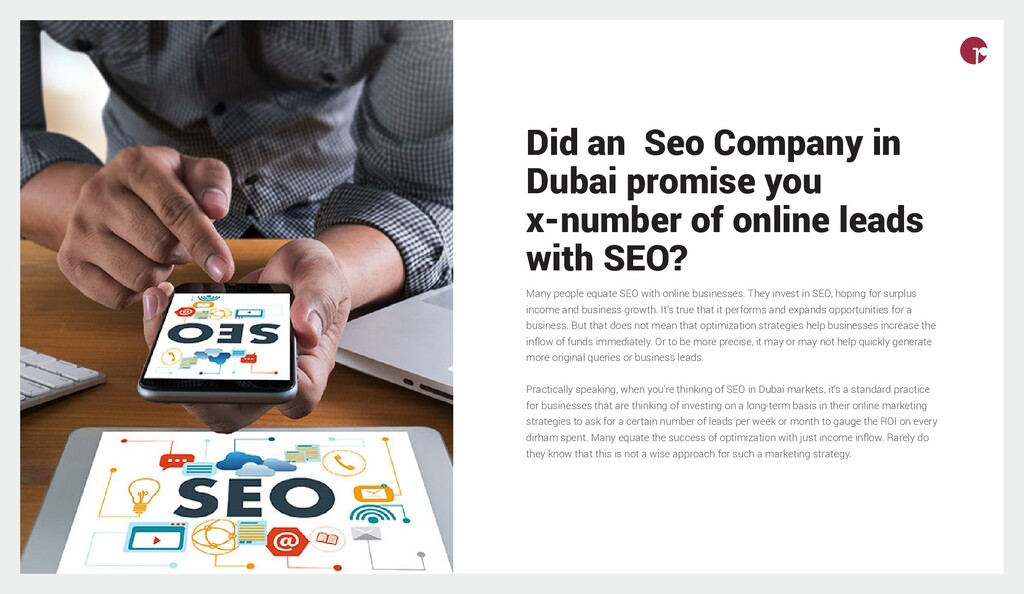 Did an Seo Company in Dubai promise you x-numbe...