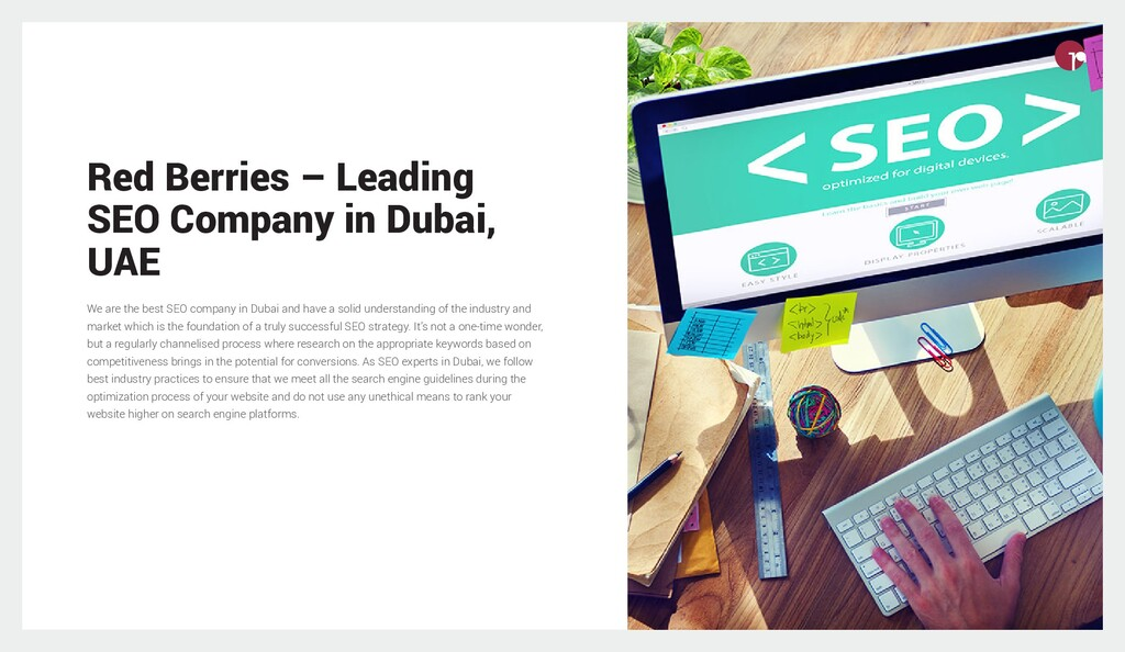 Red Berries – Leading SEO Company in Dubai, UAE...