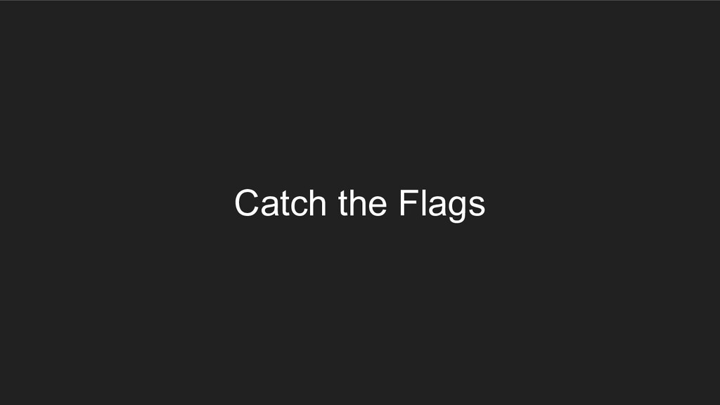 Catch the Flags