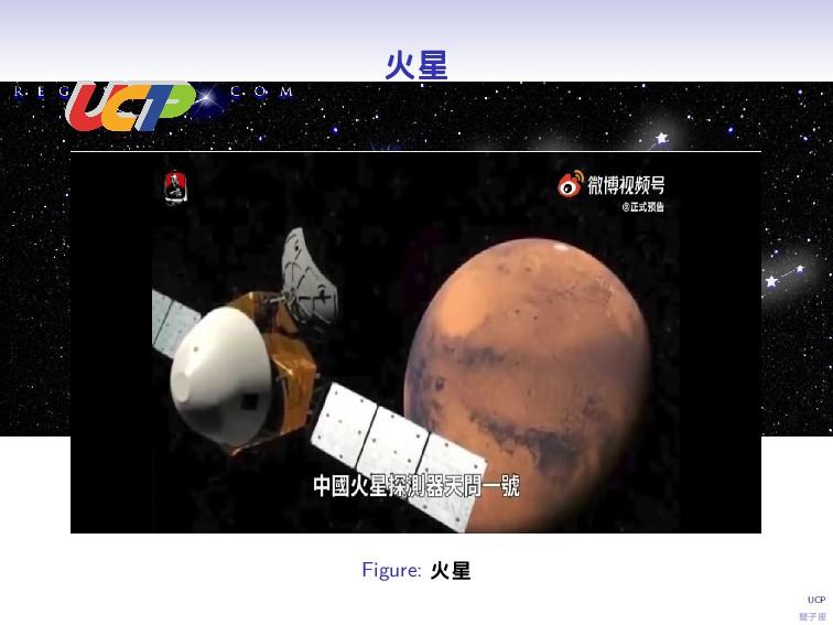 UCP 雙子座 火星 Figure: 火星
