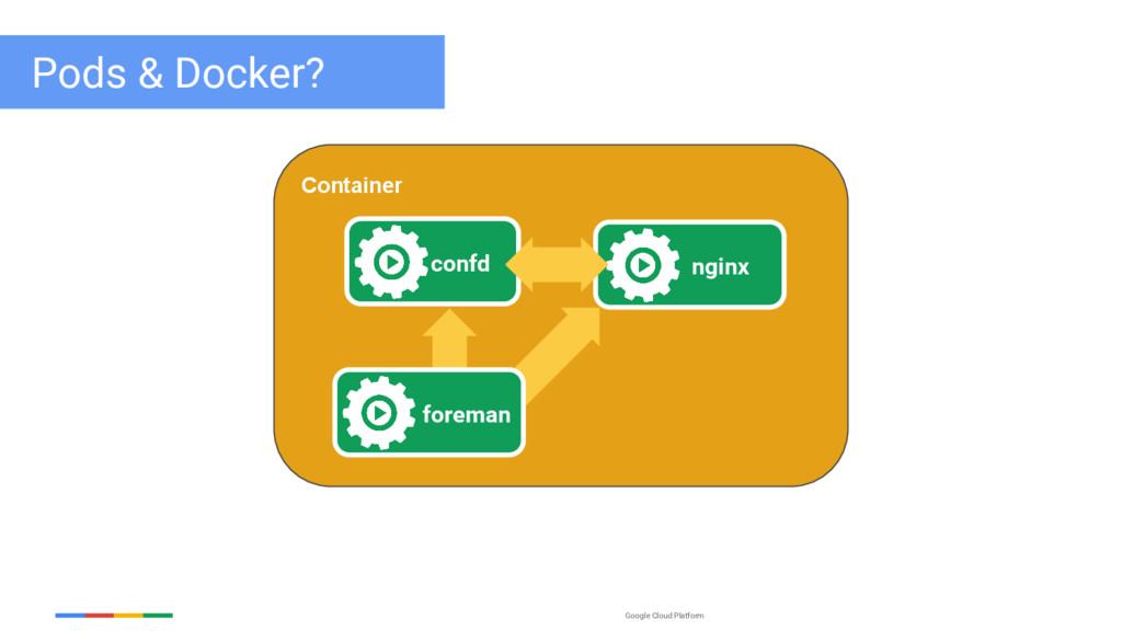 Google Cloud Platform Pods & Docker? Container ...