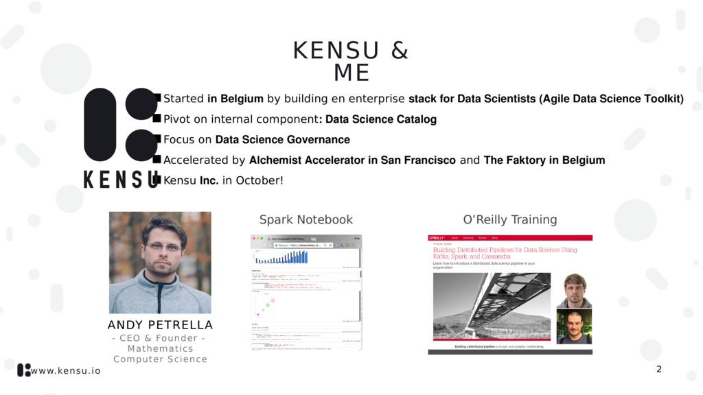 www.kensu.io 2 - CEO & Founder - Mathematics Co...