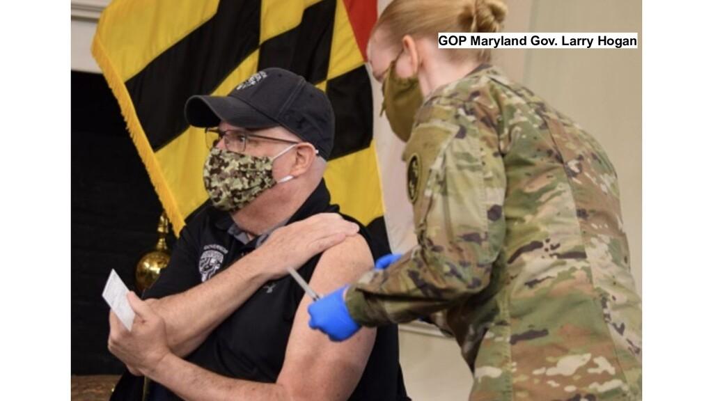 GOP Maryland Gov. Larry Hogan