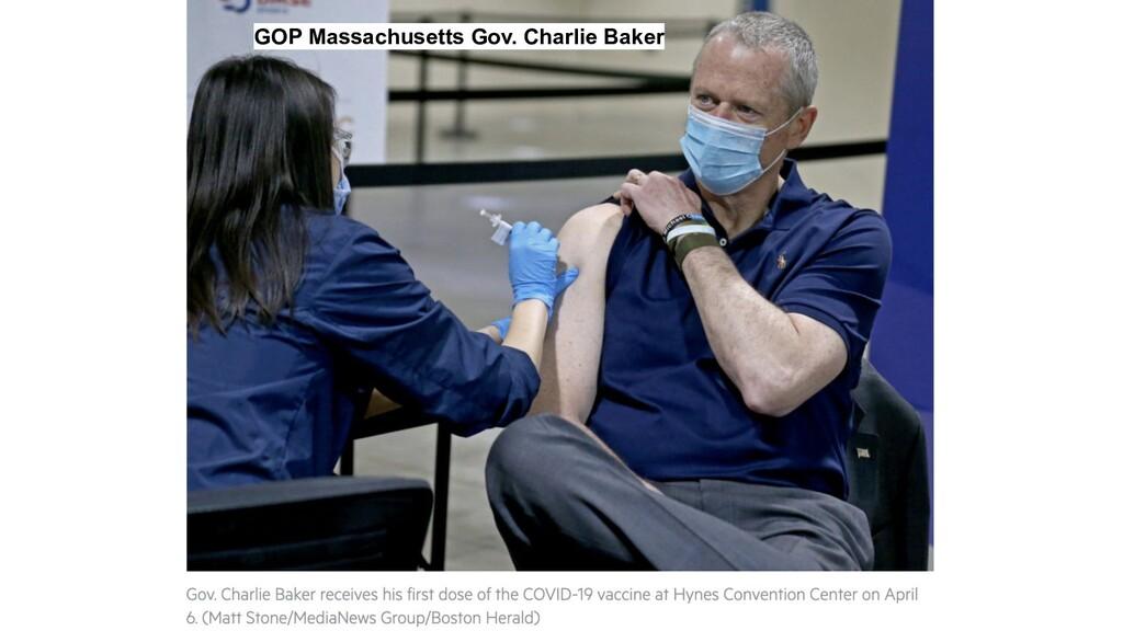 GOP Massachusetts Gov. Charlie Baker