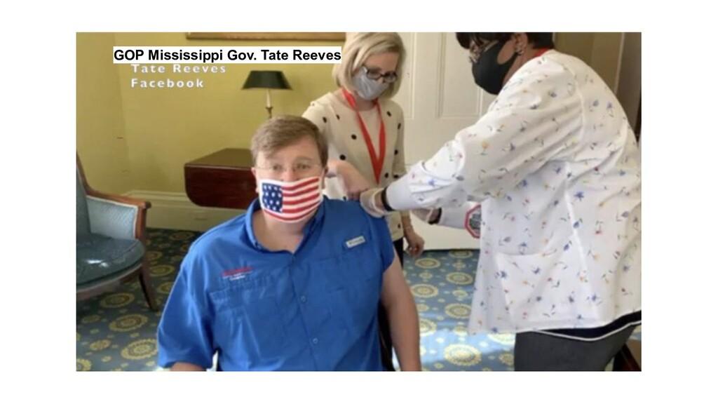 GOP Mississippi Gov. Tate Reeves