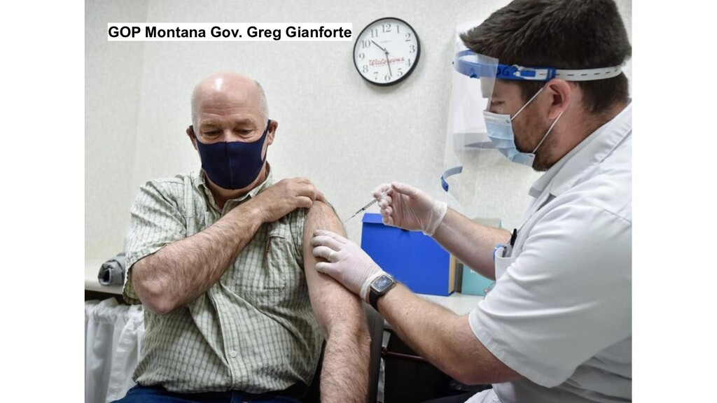 GOP Montana Gov. Greg Gianforte