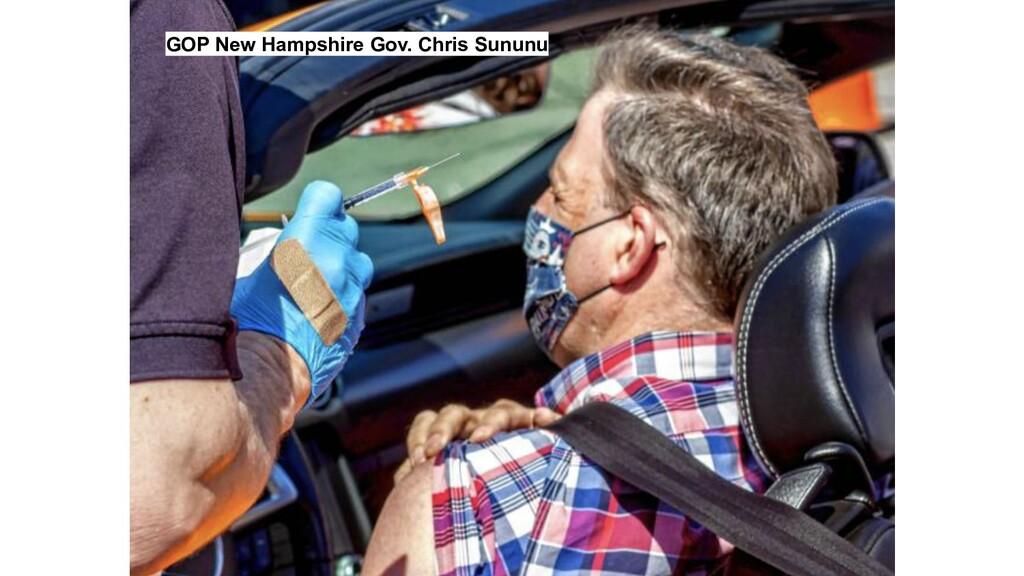 GOP New Hampshire Gov. Chris Sununu