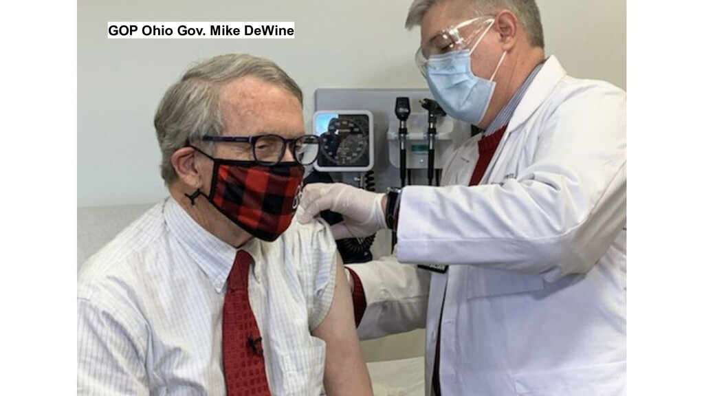 GOP Ohio Gov. Mike DeWine