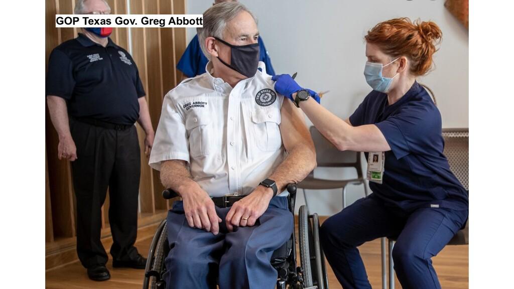 GOP Texas Gov. Greg Abbott