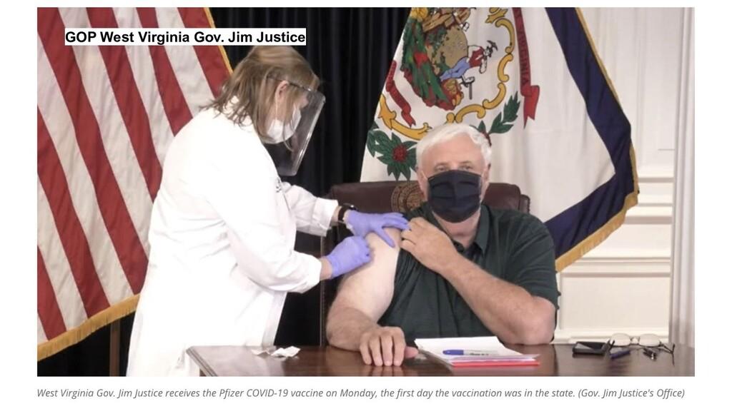 GOP West Virginia Gov. Jim Justice