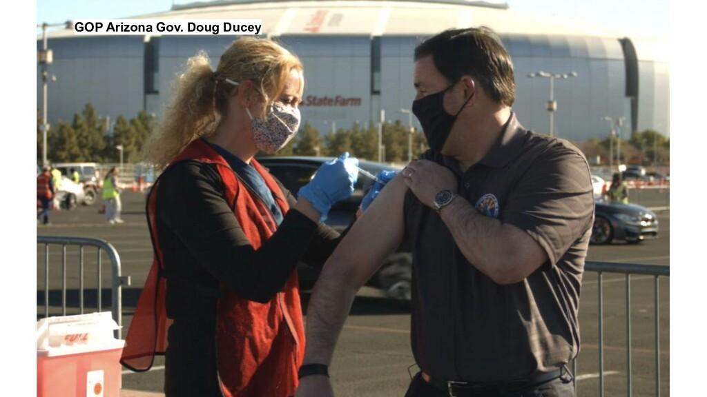 GOP Arizona Gov. Doug Ducey