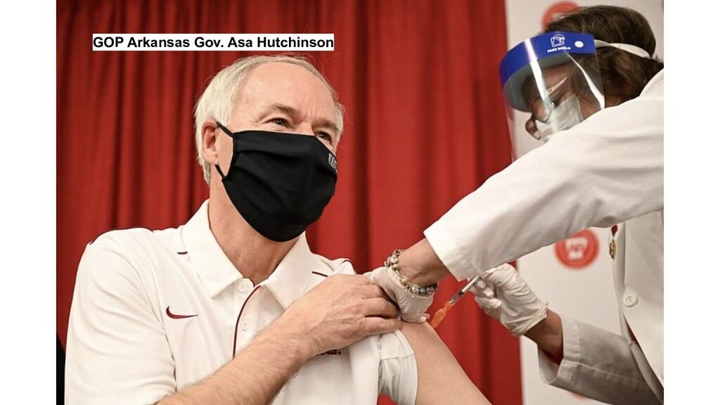 GOP Arkansas Gov. Asa Hutchinson