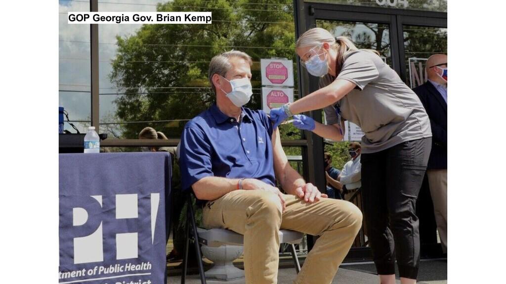 GOP Georgia Gov. Brian Kemp