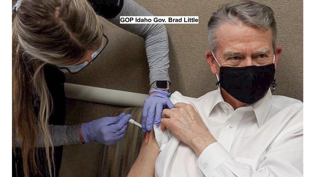 GOP Idaho Gov. Brad Little