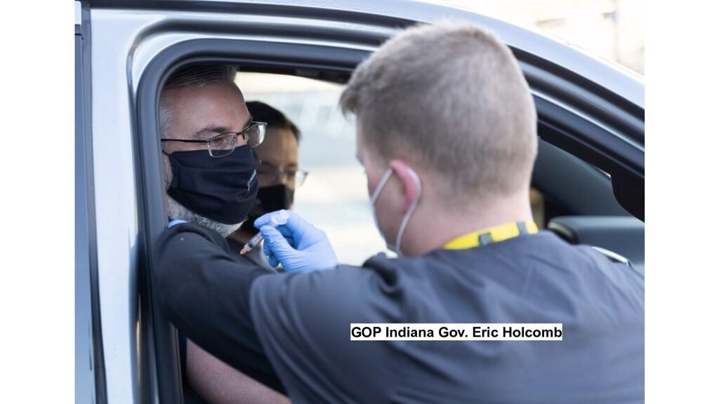 GOP Indiana Gov. Eric Holcomb