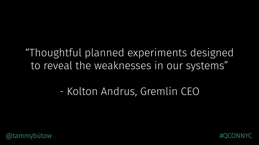 """""""Thoughtful planned experiments designed to rev..."""