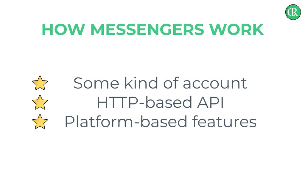 Some kind of account HTTP-based API Platform-ba...