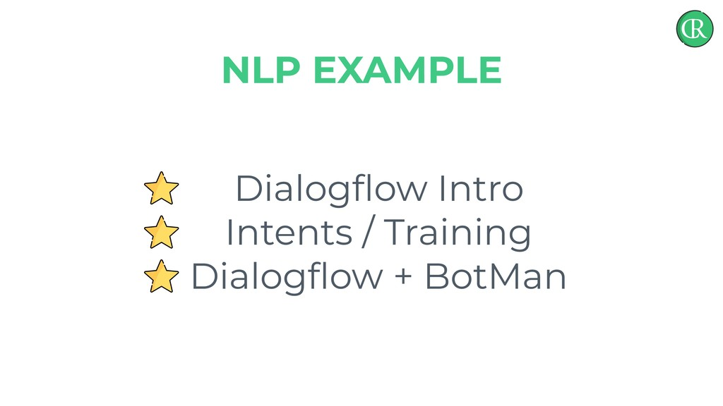 Dialogflow Intro Intents / Training Dialogflow + ...