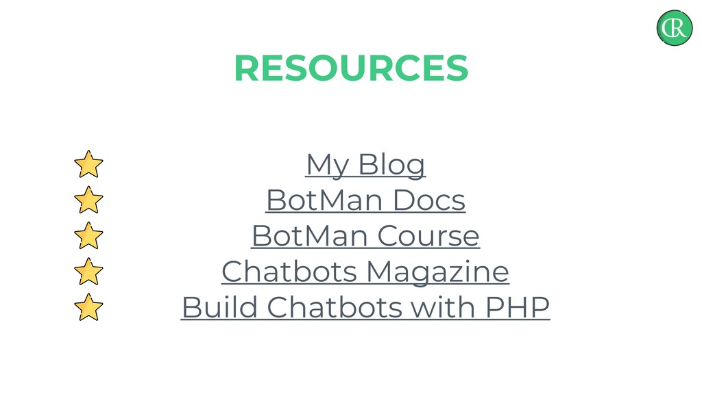 My Blog BotMan Docs BotMan Course Chatbots Maga...