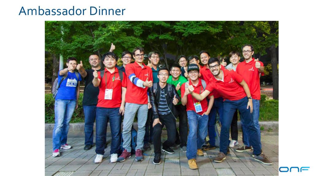 Ambassador Dinner 89