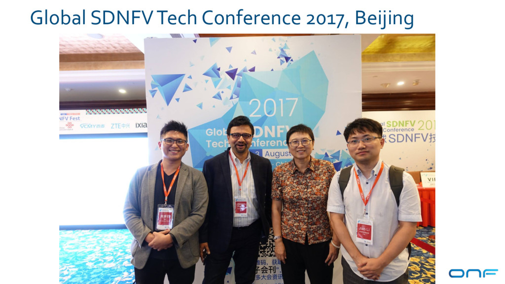 Global SDNFV Tech Conference 2017, Beijing 91
