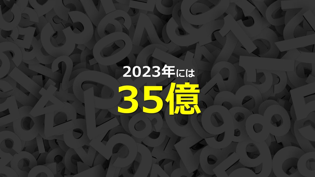 16 2023年には 35億