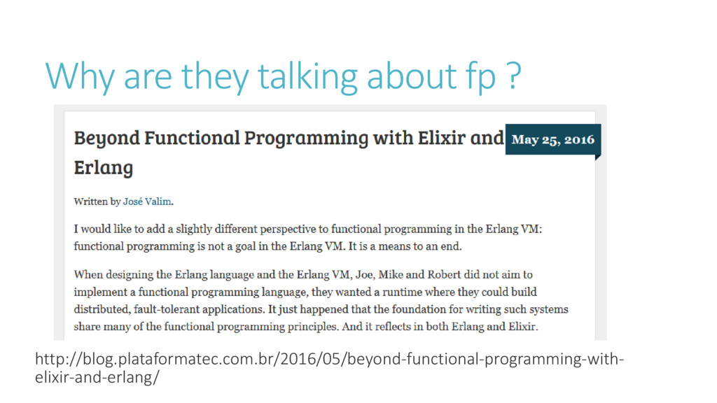 Why are they talking about fp ? http://blog.pla...