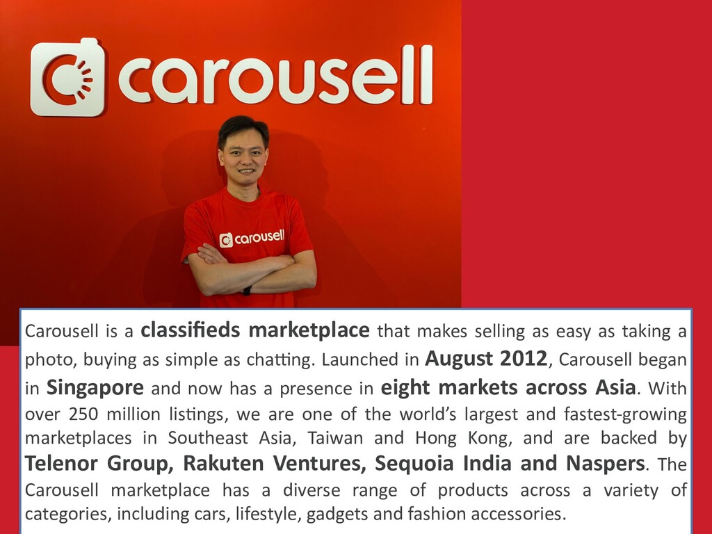 Carousell is a classifieds marketplace that make...