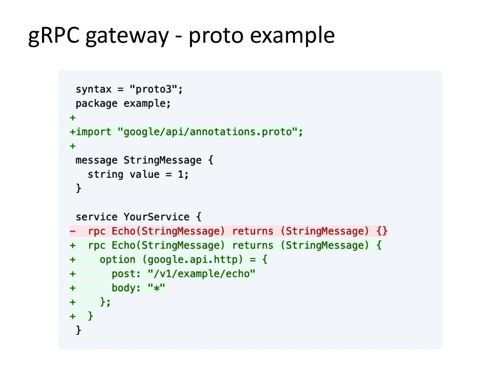gRPC gateway - proto example