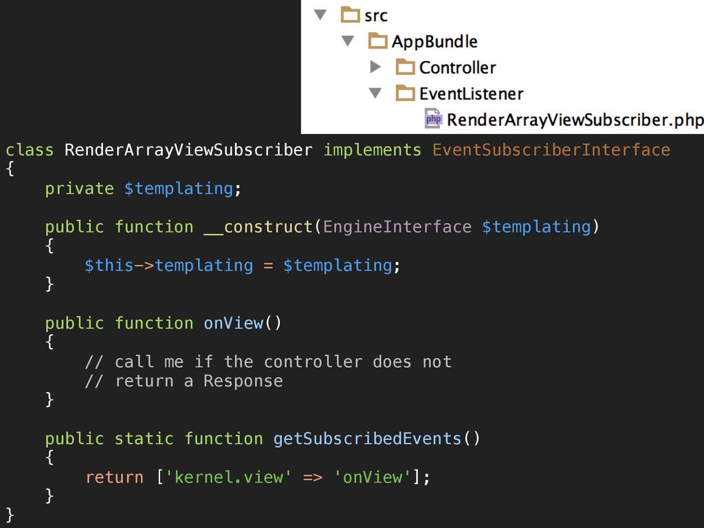class RenderArrayViewSubscriber implements Even...