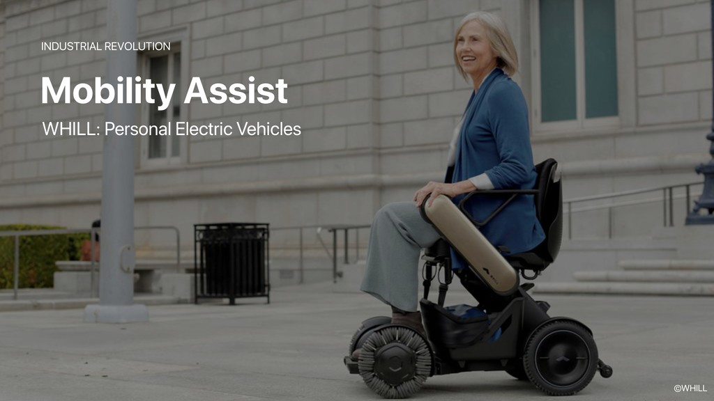 Mobility Assist INDUSTRIAL REVOLUTION WHILL: Pe...