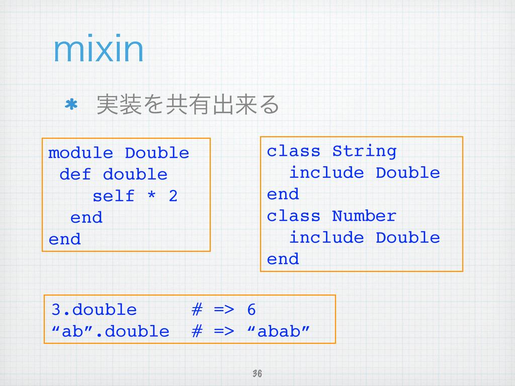 ࣮Λڞ༗ग़དྷΔ 36 NJYJO module Double! def double! s...