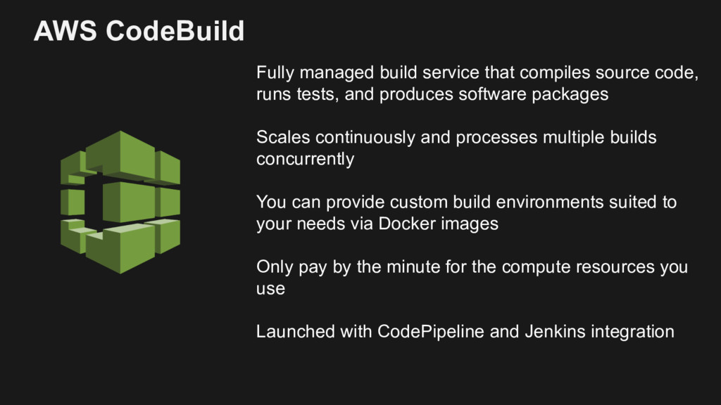 Fully managed build service that compiles sourc...