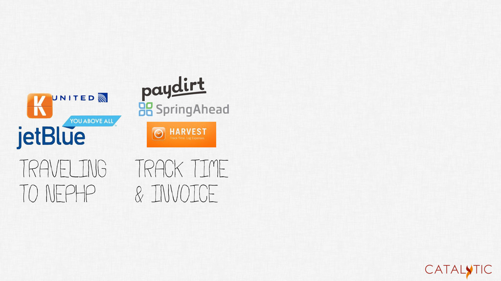TRACK TIME & INVOICE TRaveling to NEPHP