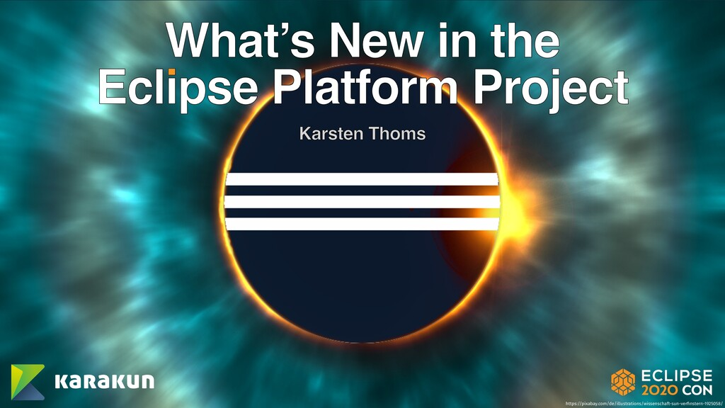 What's New in the Eclipse Platform Project Kars...