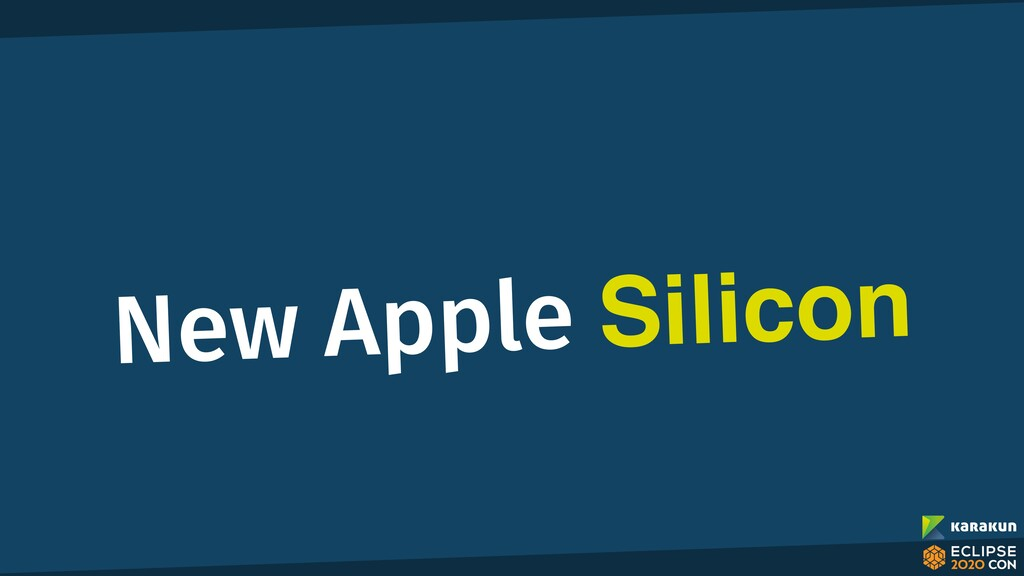New Apple Silicon