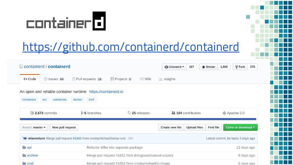 https://github.com/containerd/containerd