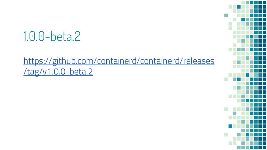 1.0.0-beta.2 https://github.com/containerd/cont...