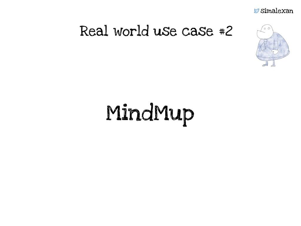 simalexan Real world use case #2 MindMup