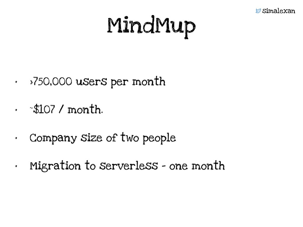 simalexan • >750,000 users per month • ~$107 / ...