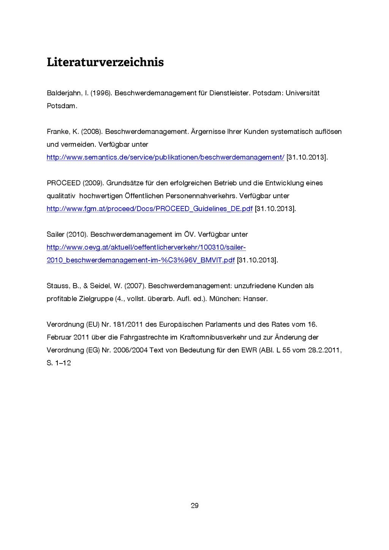 29 Literaturverzeichnis Balderjahn, I. (1996). ...