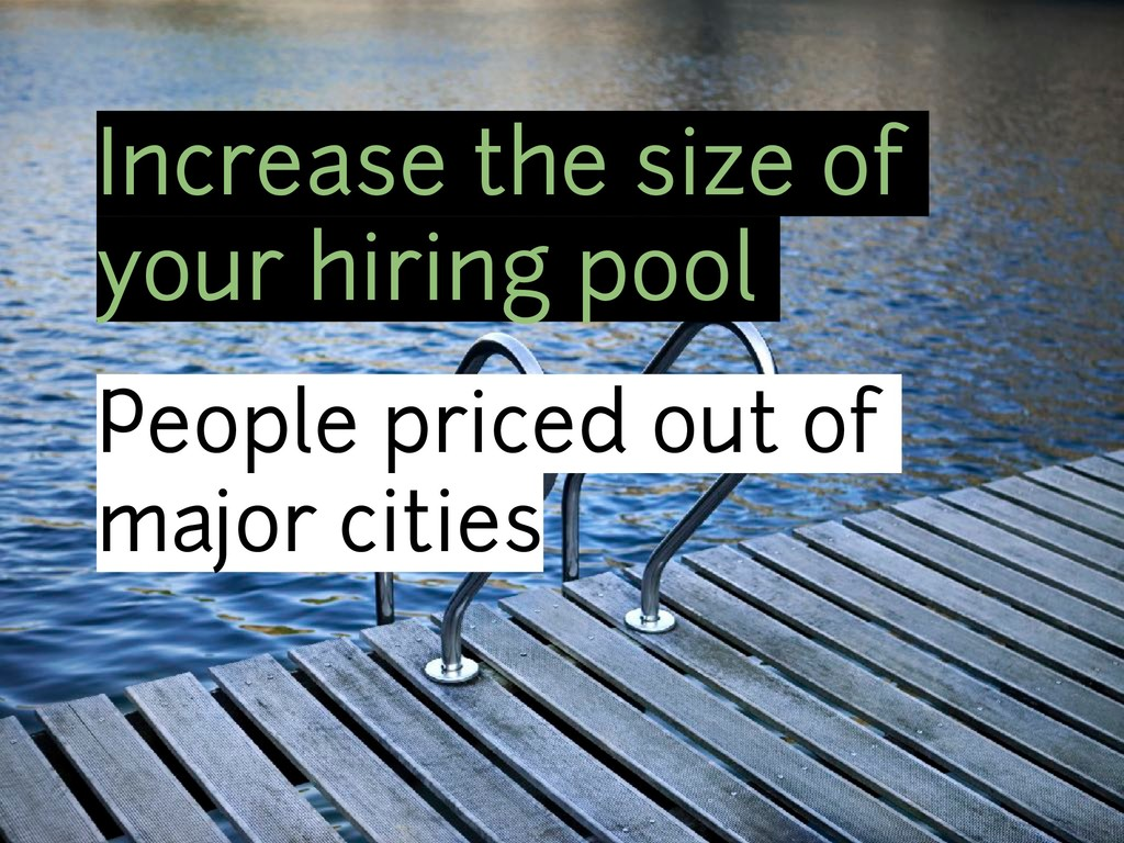 Increase the size of your hiring pool People pr...