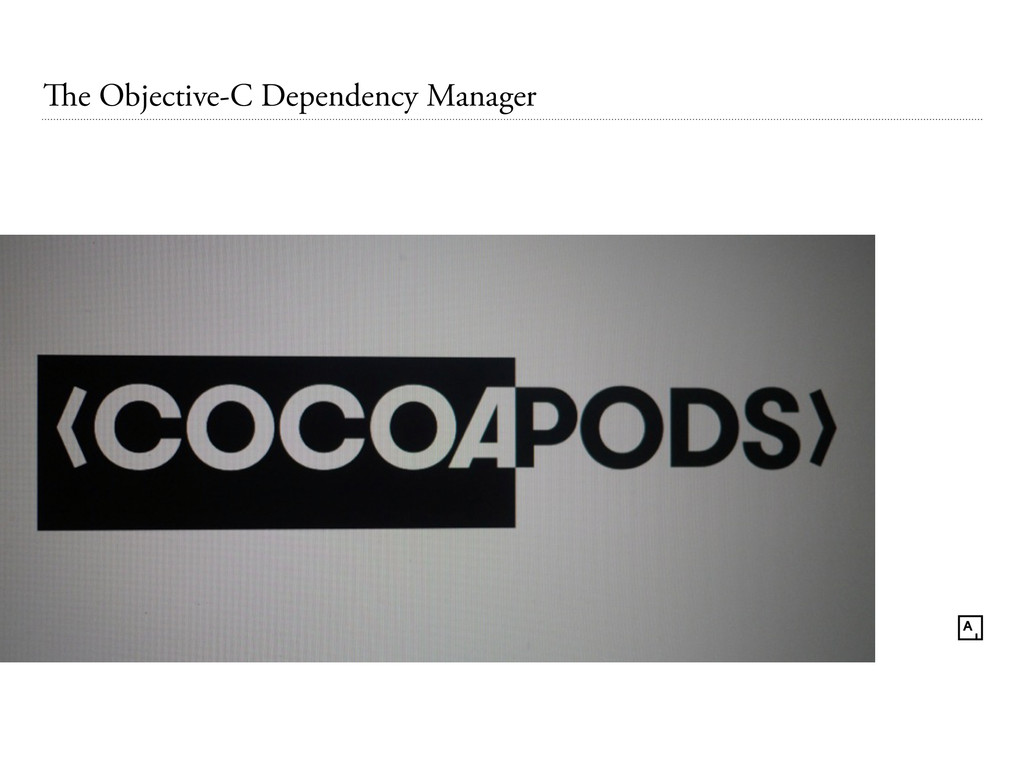 The Objective-C Dependency Manager