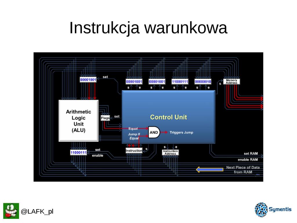 Instrukcja warunkowa @LAFK_pl