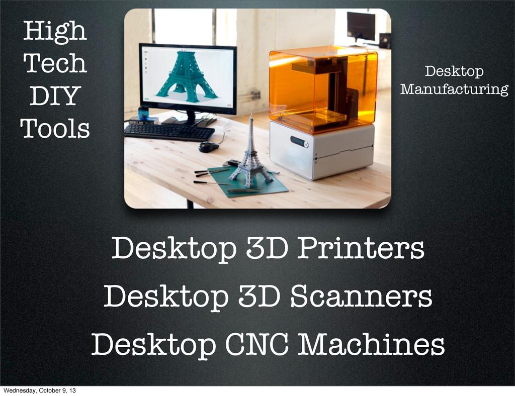 High Tech DIY Tools Desktop 3D Printers Desktop...