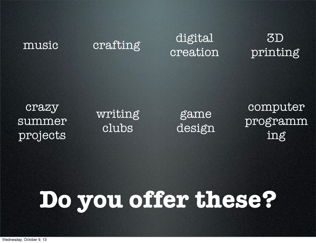 Do you offer these? music crafting digital crea...