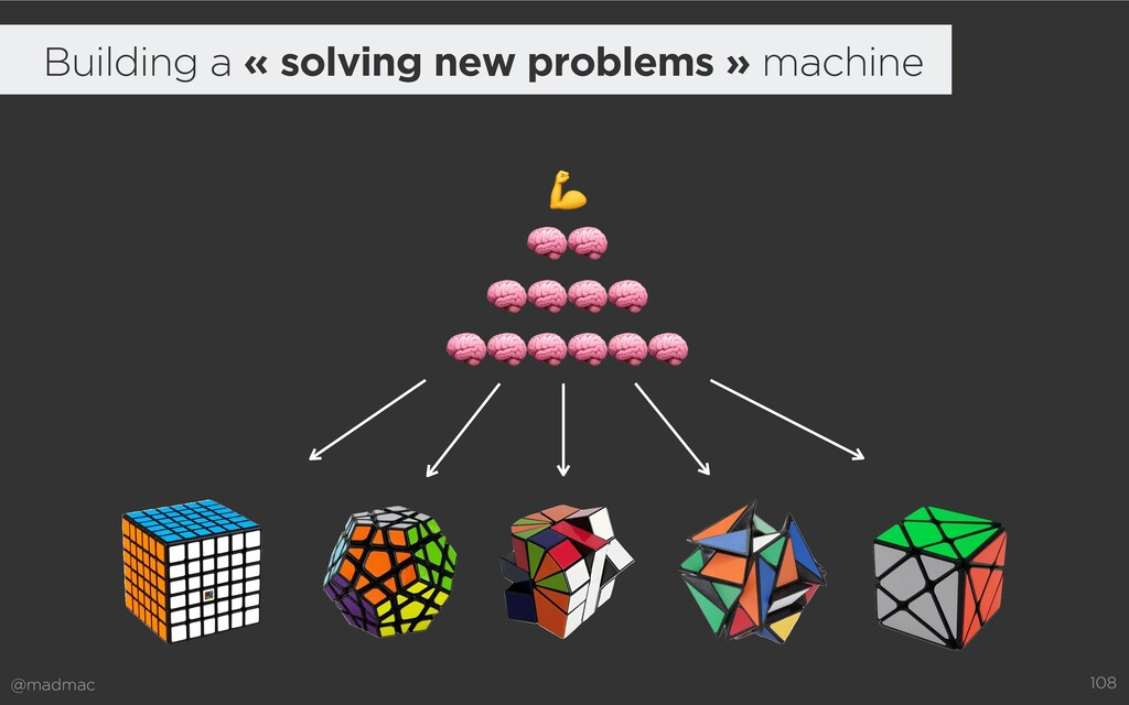 @madmac 108     Building a « solving new proble...